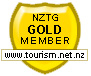 New Zealand Tourism Gold Member